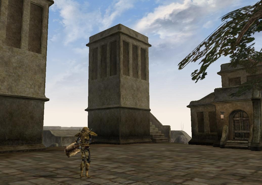 Balmora Western Guard Tower South
