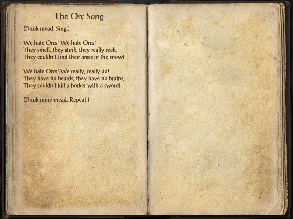 The Orc Song