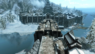 Bridge Leading To Windhelm Skyrim