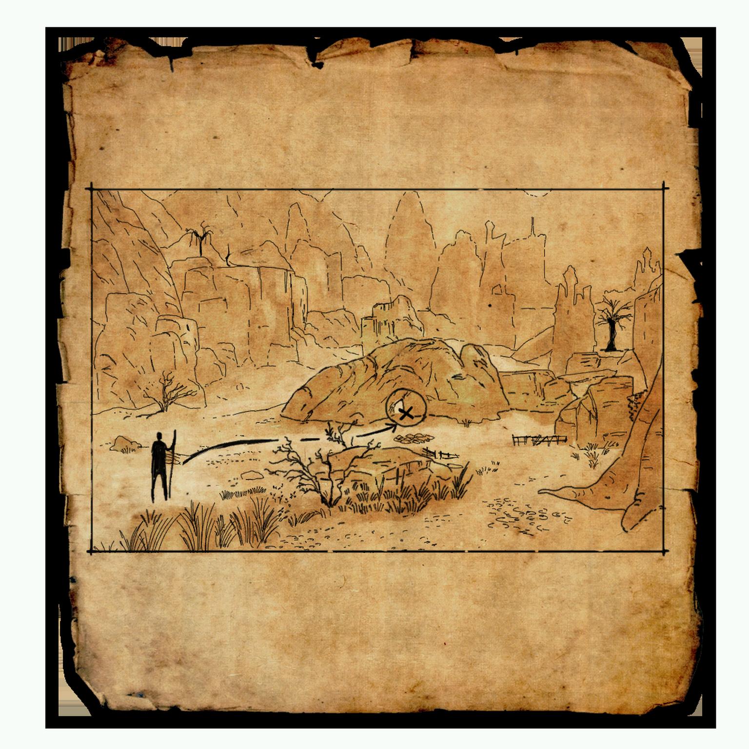 Craglorn Treasure Map I