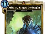 Miraak, Sangre de dragón