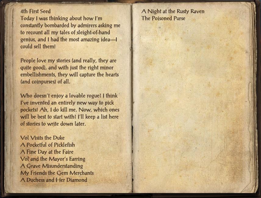 Vol's Journal