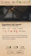 Dragonbone Light Hammer