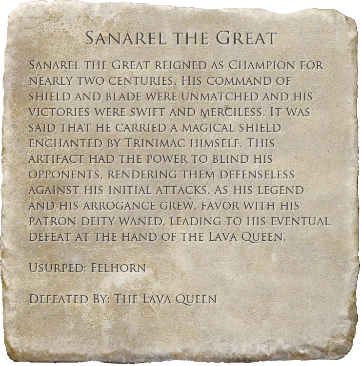 Sanarel the Great