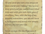 Vine-Tongues: Introduction