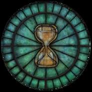 Witraż symbolu Akatosha (Oblivion)