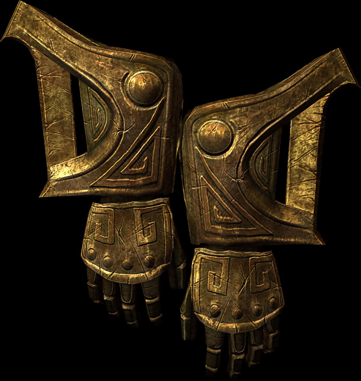 Krasnoludzkie rękawice (Skyrim)