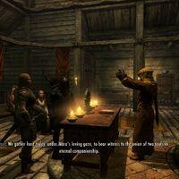 Marriage Skyrim Elder Scrolls Fandom