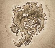 Shivering Isles Map