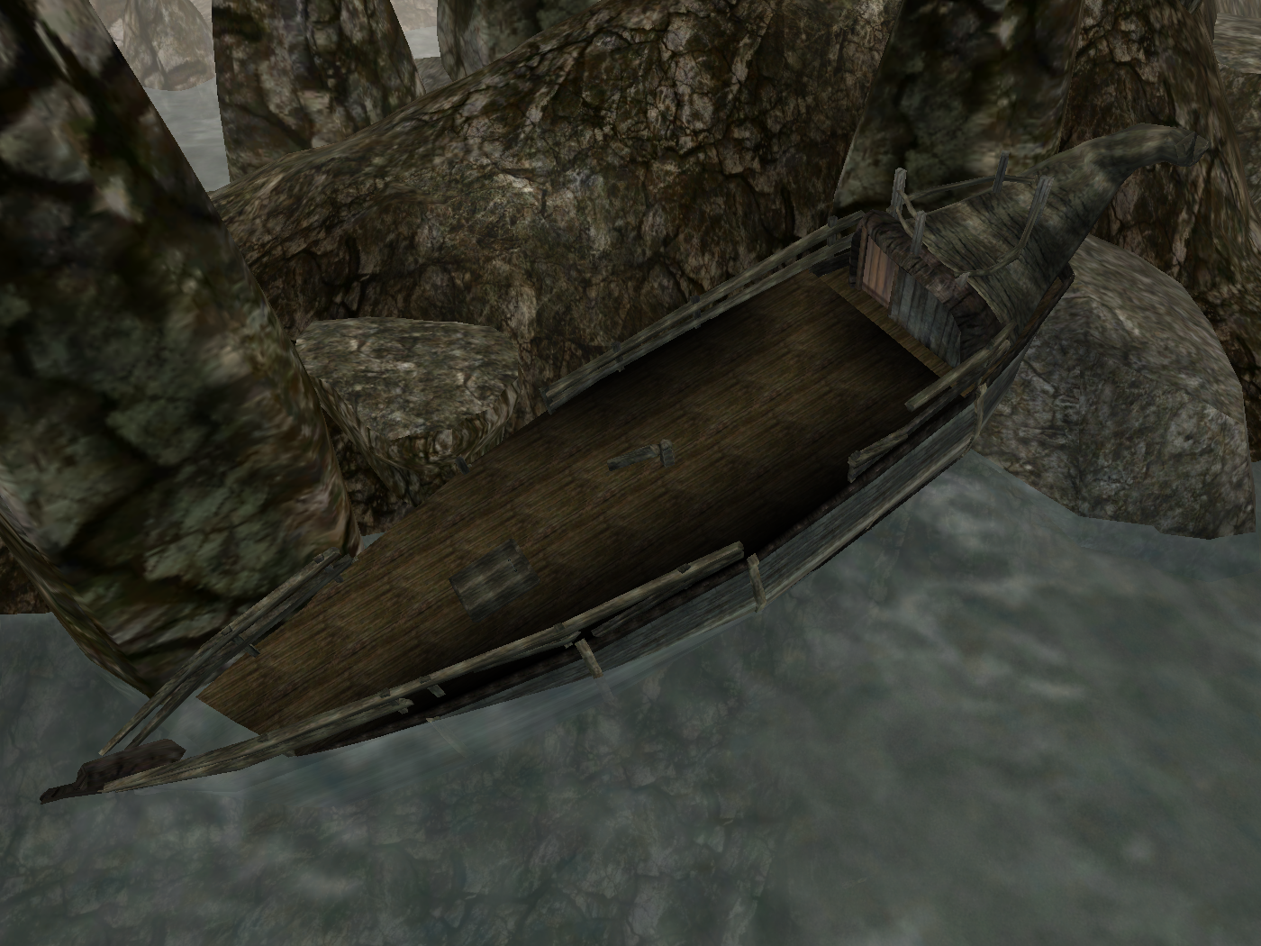 Unknown Shipwreck