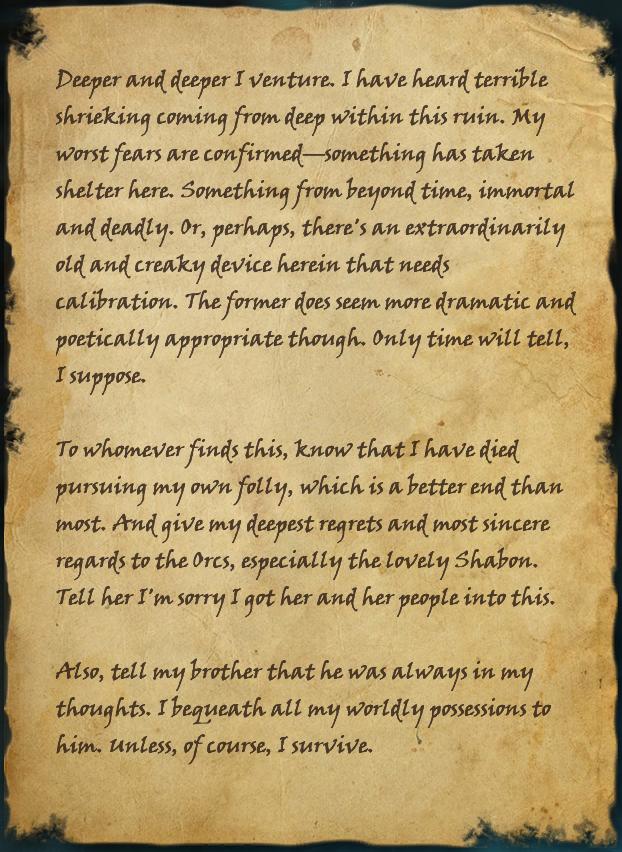 Neramo's Journal, Page 3