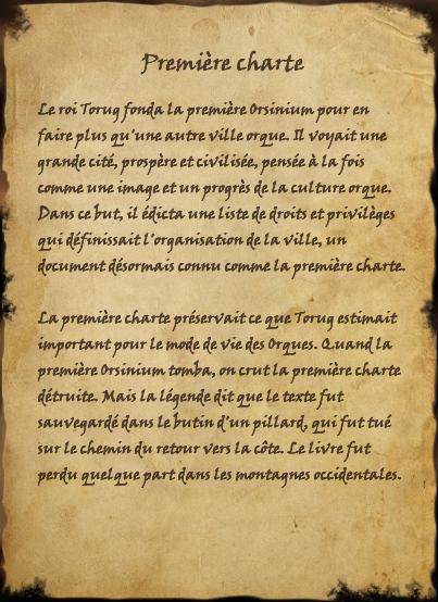 Première charte (Livre)