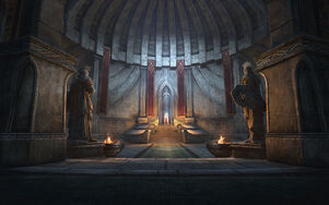 Башня Белого Золота тронный зал