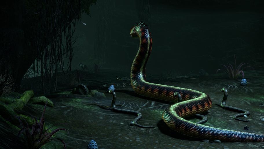 Giant Snake Mother