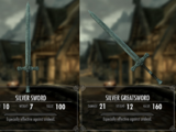 Silver Weapons (Skyrim)