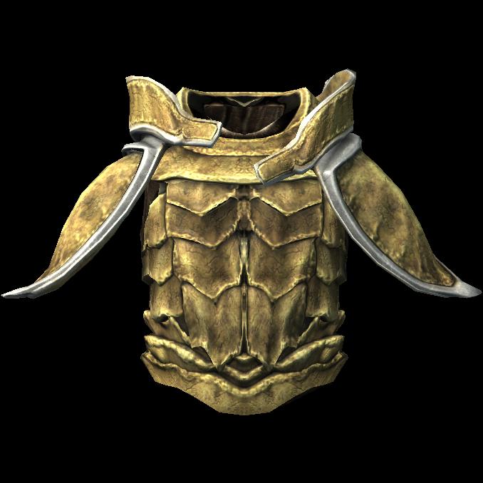 Костяная броня с наплечниками