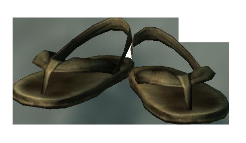 Сандалии жреца Мотылька