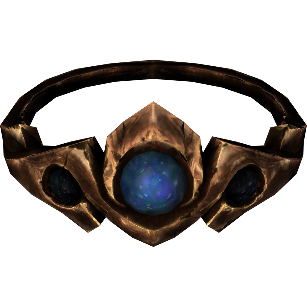 Copper and Moonstone Circlet