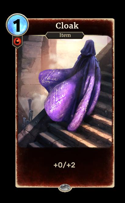 Cloak (Legends)