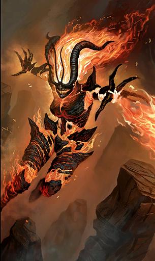 Atronach ognia (Legends)