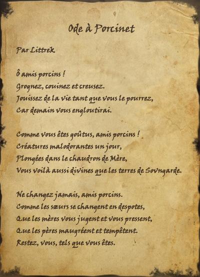 Ode à Porcinet