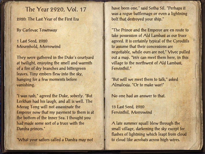 The Year 2920, Vol. 17