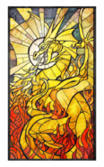 Akatosh card back