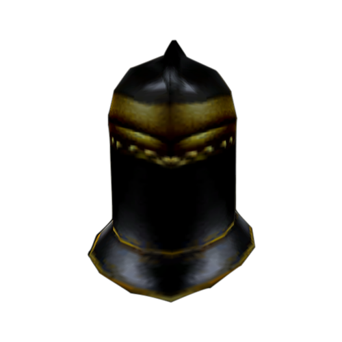 Ebony Closed Helm (Morrowind)