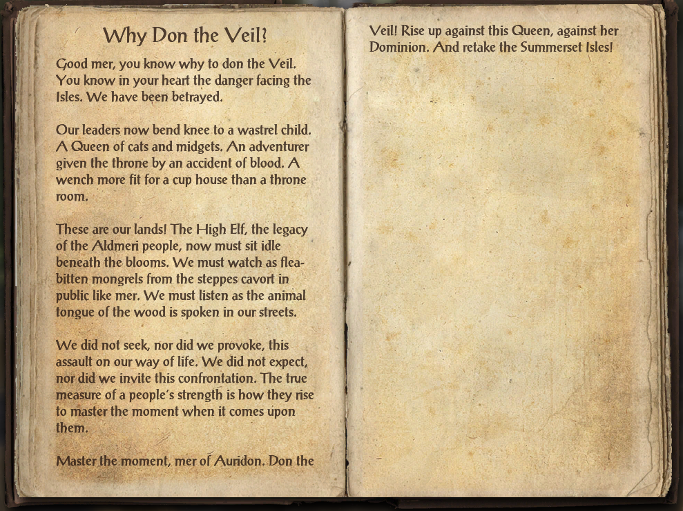 Why Don the Veil?