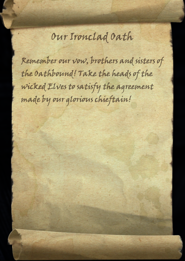 Our Ironclad Oath