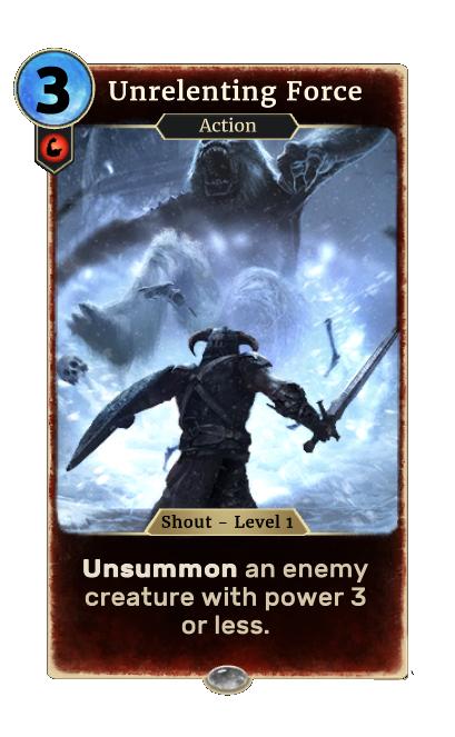 Unrelenting Force (Legends)