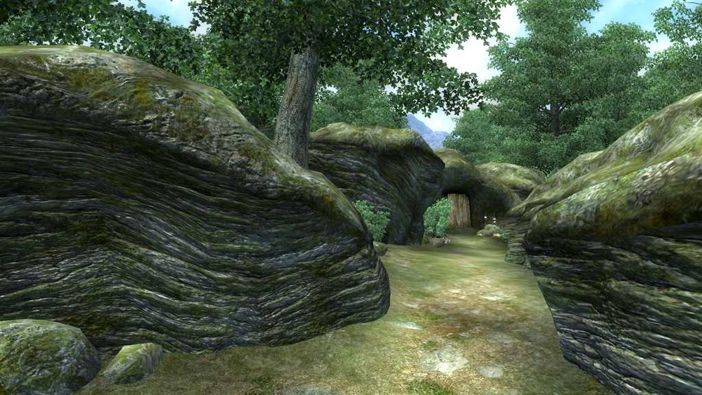 Cracked Wood Cave (Oblivion)