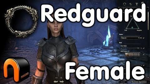 Elder Scrolls Online -- Redguard Female - Character Creation