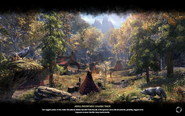 Jerall Mountains Logging Camp Loading Screen