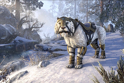 Snowy Sabre Cat (Mount)