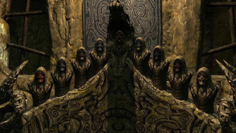 Dragon Priest Mask (Skyrim)