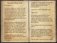 Immortal Blood, Part 1 1 of 2