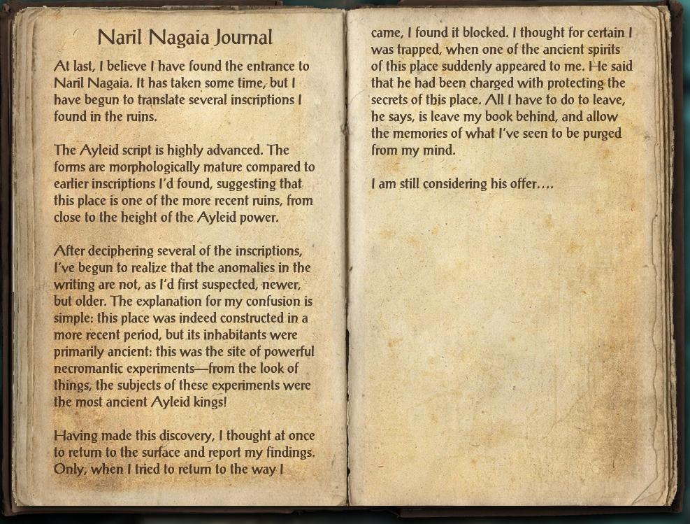 Naril Nagaia Journal