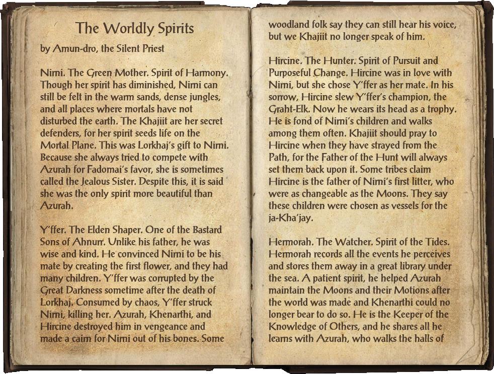 The Worldly Spirits