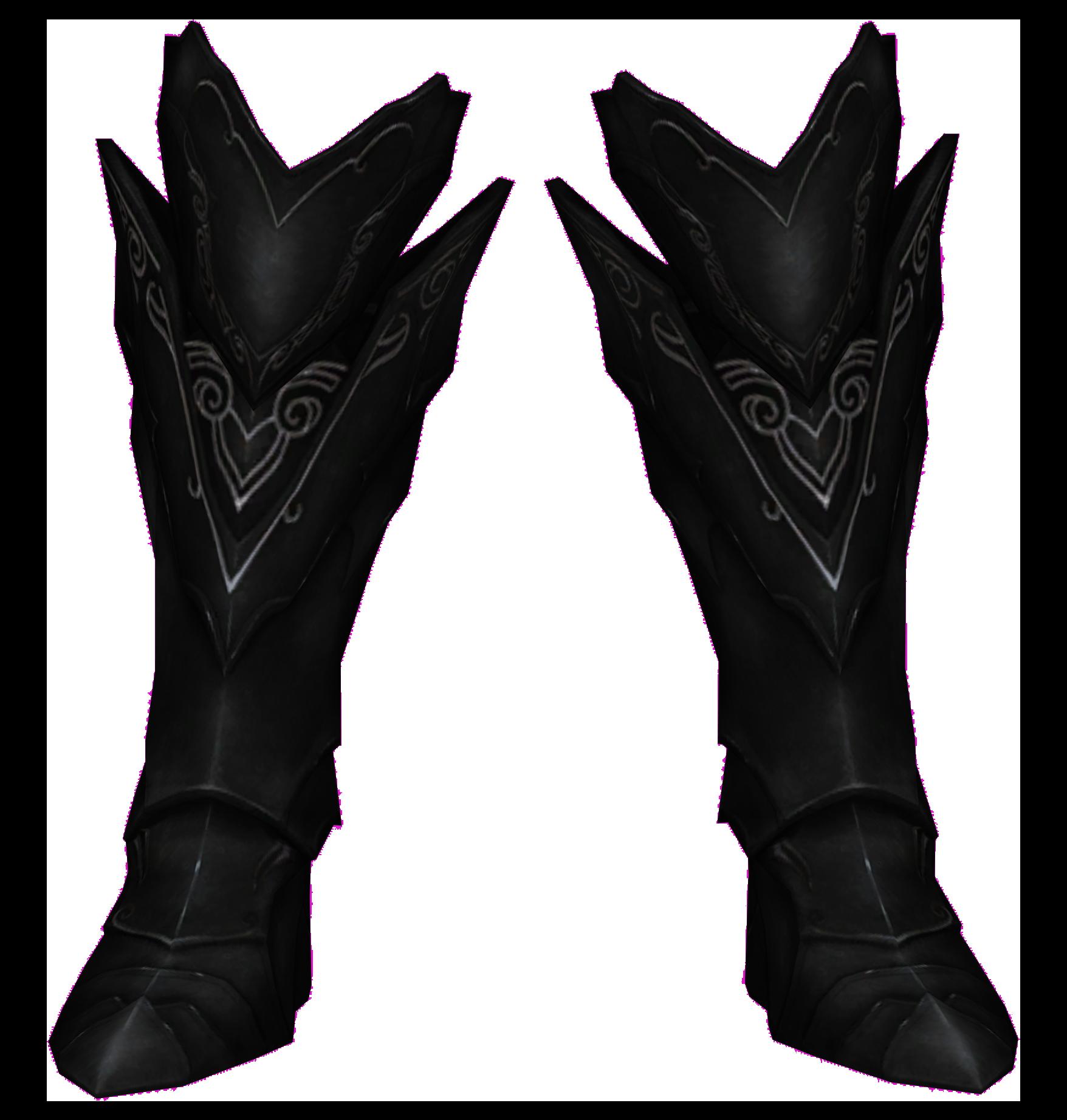 Ebony Boots (Skyrim)