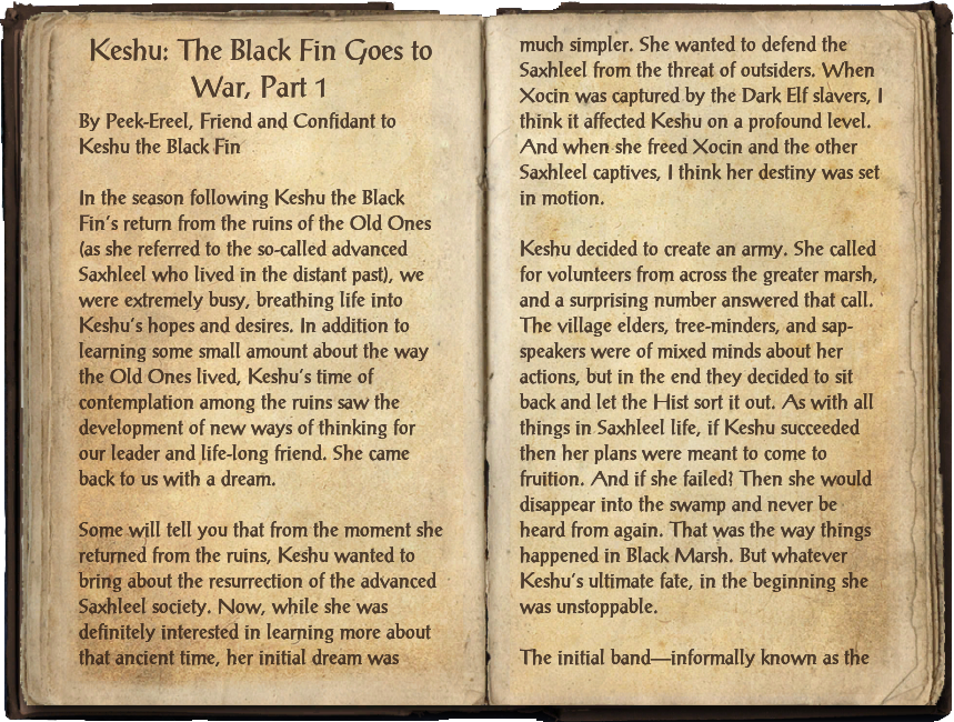 Keshu: The Black Fin Goes to War, Part 1