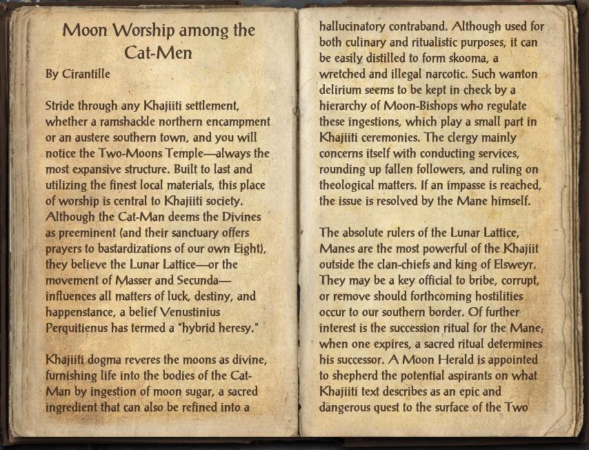 Moon Worship among the Cat-Men