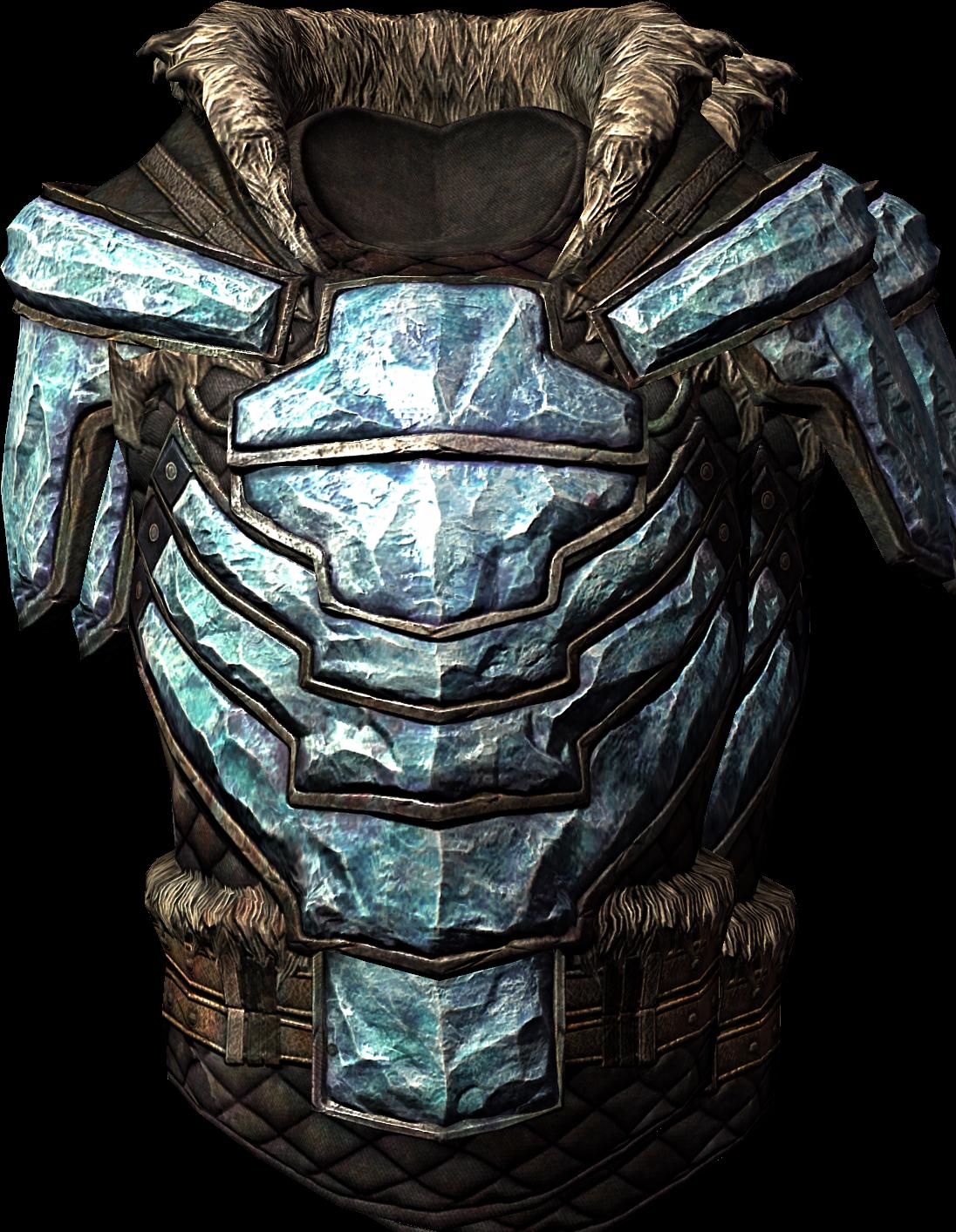 Stalhrim Armor (Skyrim Armor Piece)