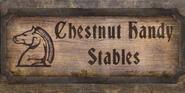 TESIV Sign ChestnutHandy