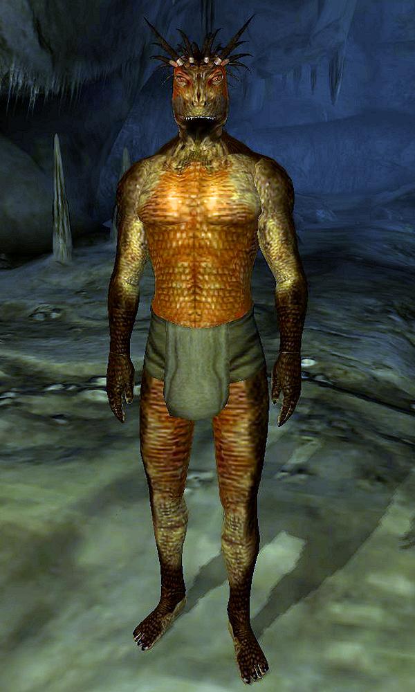 Argonian Tribesman
