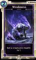 Weakness (Legends) DWD