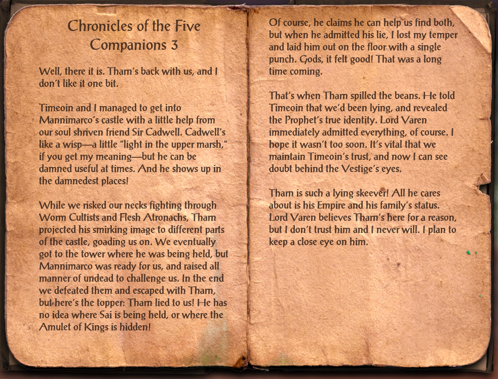 Chronicles of the Five Companions 3