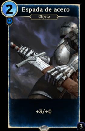 Espada de acero (Legends)