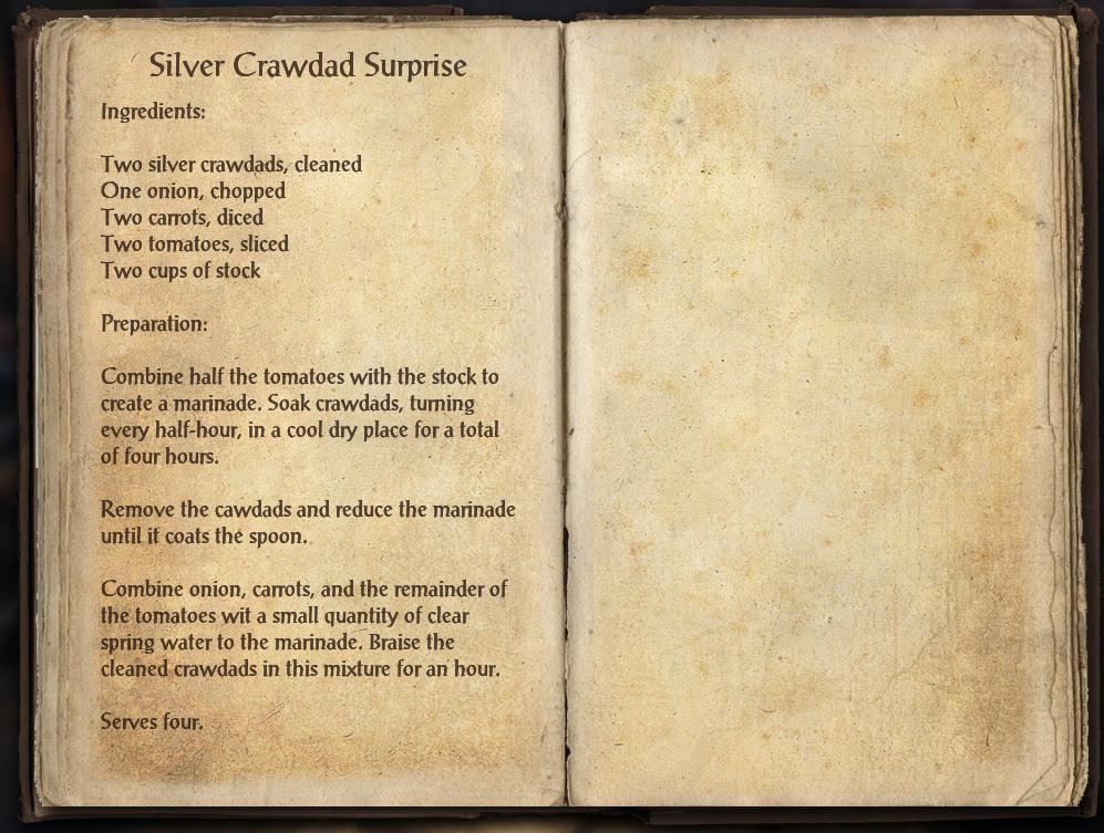 Silver Crawdad Surprise