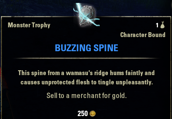 Buzzing Spine